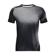Under Armour Mens Rush HeatGear 2.0 Short Sleeve Tee Black S, Black, rebel_hi-res