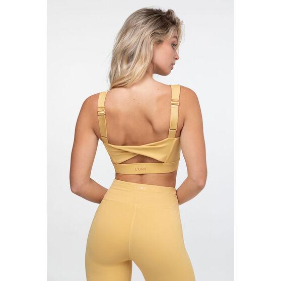 L'urv Womens Awaken Crop, Yellow, rebel_hi-res