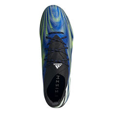 adidas Nemeziz .1 Football Boots, Blue/White, rebel_hi-res