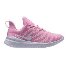 Nike Rival Kids Running Shoes Pink / White 11, Pink / White, rebel_hi-res