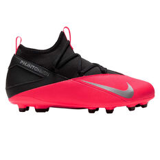 Nike Phantom Vision II Club Kids Football Boots Black / Red US 1, Black / Red, rebel_hi-res