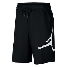 Nike Jordan Jumpman Logo Fleece Shorts Black XS, Black, rebel_hi-res