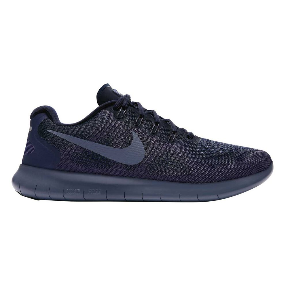 9138f2a9b35ab Nike Free Run 2017 Mens Running Shoes Blue US 7