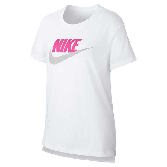 Nike Girls DPTL Basic Futura T-Shirt, , rebel_hi-res