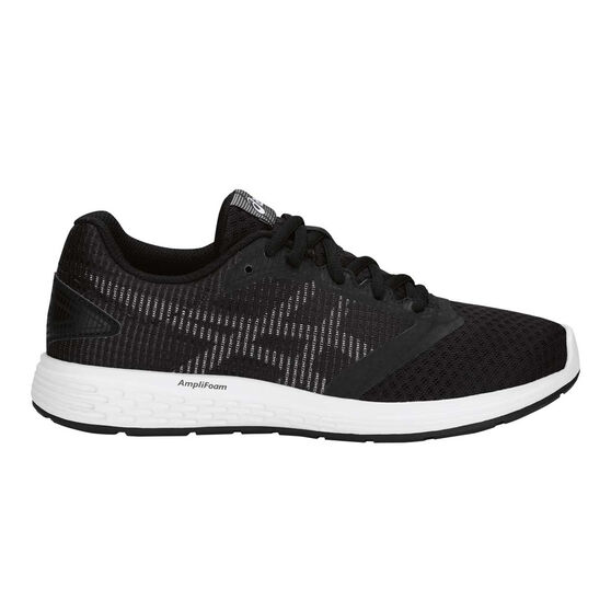 Asics Patriot 10 Kids Training Shoes Black / White US 7, Black / White, rebel_hi-res