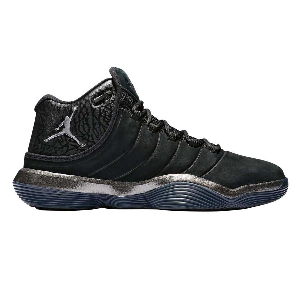 88308d5fb22bc ... sale nike jordan lunar superfly mens basketball shoes black silver us 8  black silver 623ed 5daee