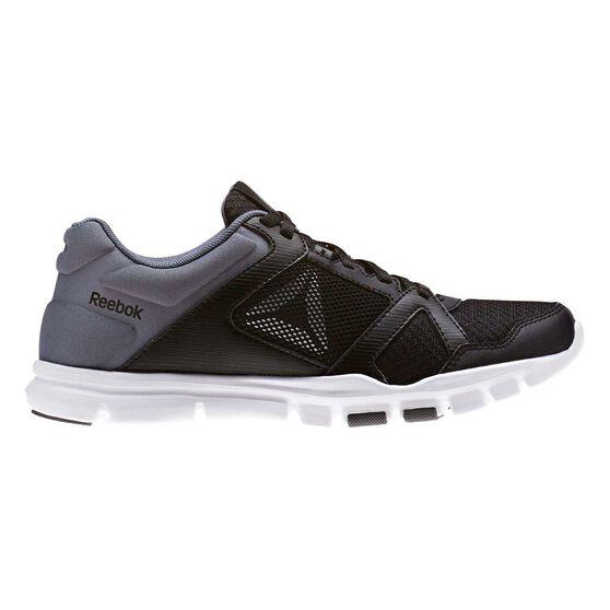 91d23d9ba74 Reebok Yourflex Trainette 10 MT Womens Training Shoes Grey   White US 8.5