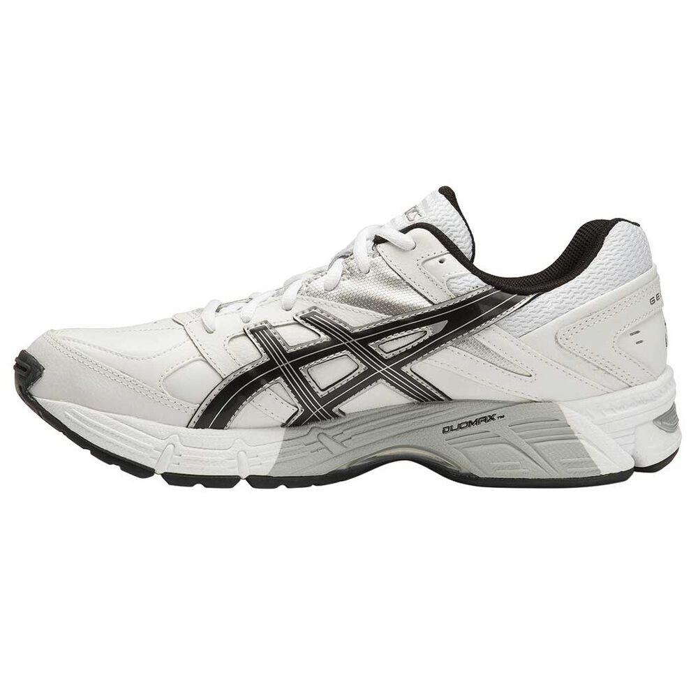 6974bb659952 Asics Gel 190TR Mens Leather Cross Training Shoes White   Black US 7 ...