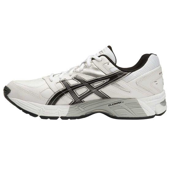 5f23762e7ec Asics Gel 190TR Mens Leather Cross Training Shoes White / Black US 7