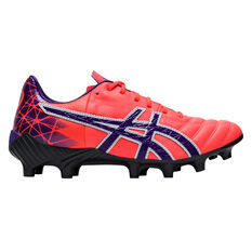 Asics Lethal Tigreor IT FF Womens Football Boots Coral US 7, Coral, rebel_hi-res
