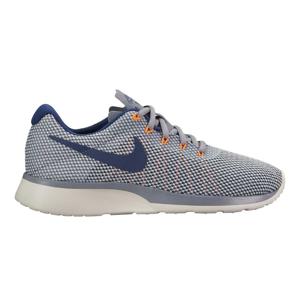 Nike Tanjun Racer Womens Casual Shoes Grey   Blue US 6  e1ed65b9c45f