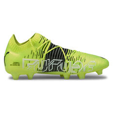 Puma Future Z 1.1 Football Boots Yellow US Mens 7 / Womens 8.5, Yellow, rebel_hi-res