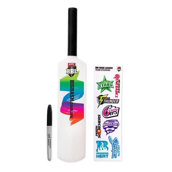 BBL Mini Light Up Cricket Bat, , rebel_hi-res