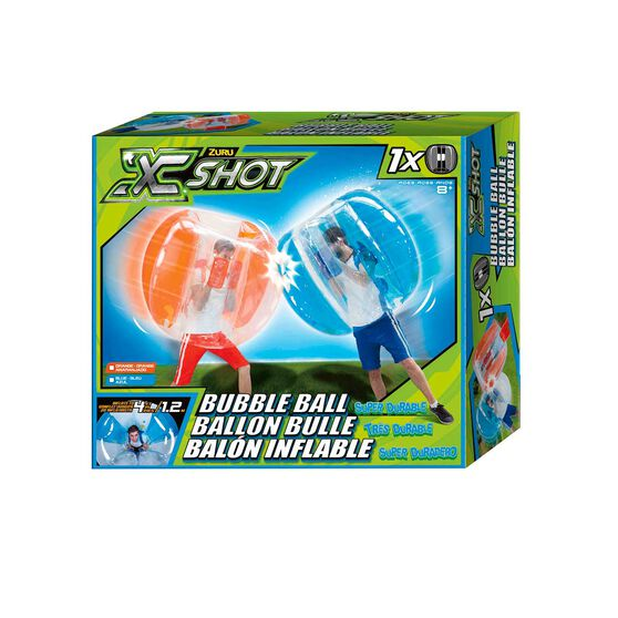 X Shot Bubble Ball Blue, , rebel_hi-res