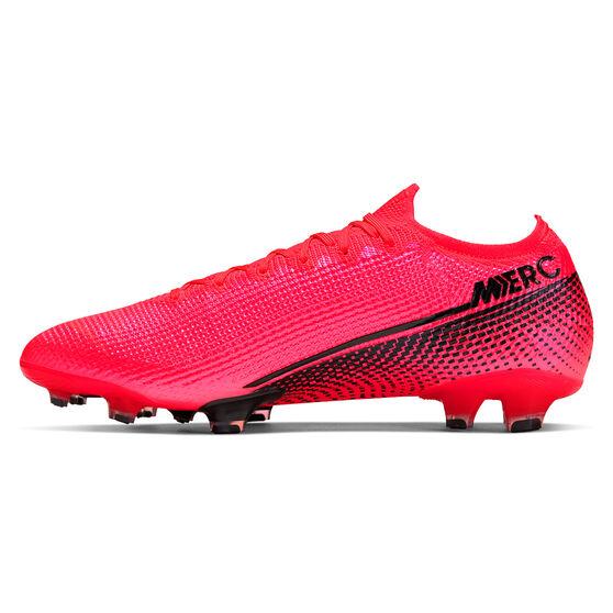 Nike Mercurial Vapor XIII Elite Football Boots, Black / Red, rebel_hi-res