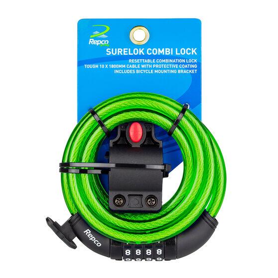 Repco Surelok Combination Bike Lock, , rebel_hi-res
