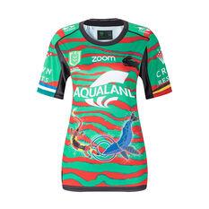 South Sydney Rabbitohs 2021 Womens Indigenous Jersey Green 8, Green, rebel_hi-res
