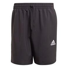 adidas Mens AEROREADY Essentials Chelsea Small Logo Shorts Black XS, Black, rebel_hi-res