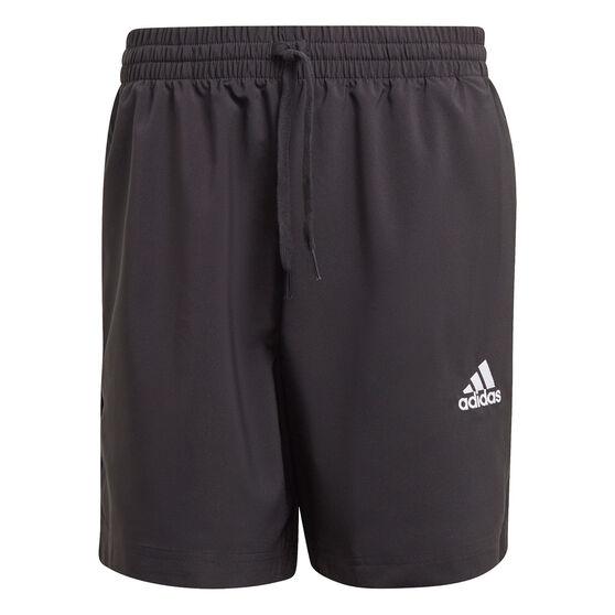 adidas Mens AEROREADY Essentials Chelsea Small Logo Shorts, Black, rebel_hi-res