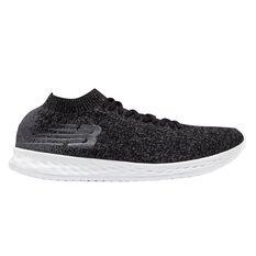 New Balance Zante Solas Mens Running Shoes Black US 7, Black, rebel_hi-res
