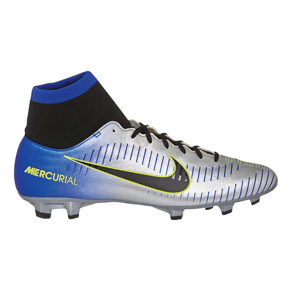 bdc9c8ce7f1 Nike Mercurial Victory VI NJR Dynamic Fit Mens Football Boots Blue   Silver  US 7.5 Adult