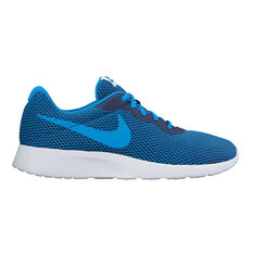Nike Tanjun SE Mens Casual Shoes Blue / Blue US 7, Blue / Blue, rebel_hi-res