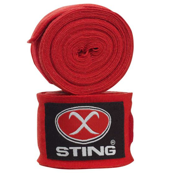 Sting Elasticised Hand Wrap Red, Red, rebel_hi-res