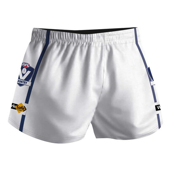 Cougar Sportswear V.C.F.L Training Shorts, White, rebel_hi-res