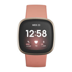 Fitbit Versa 3 - Pink Clay Gold, , rebel_hi-res