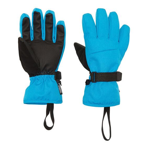 Tahwalhi Kids Cub Ski Gloves Blue L, Blue, rebel_hi-res
