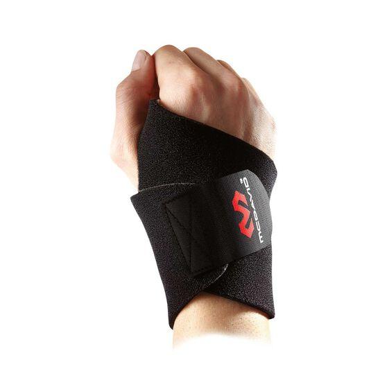 McDavid Adjustable Wrist Wrap One Fits All Black, , rebel_hi-res