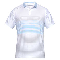 029a5ee9 Under Armour Mens Iso Chill Power Play Polo White S, White, rebel_hi-res ...