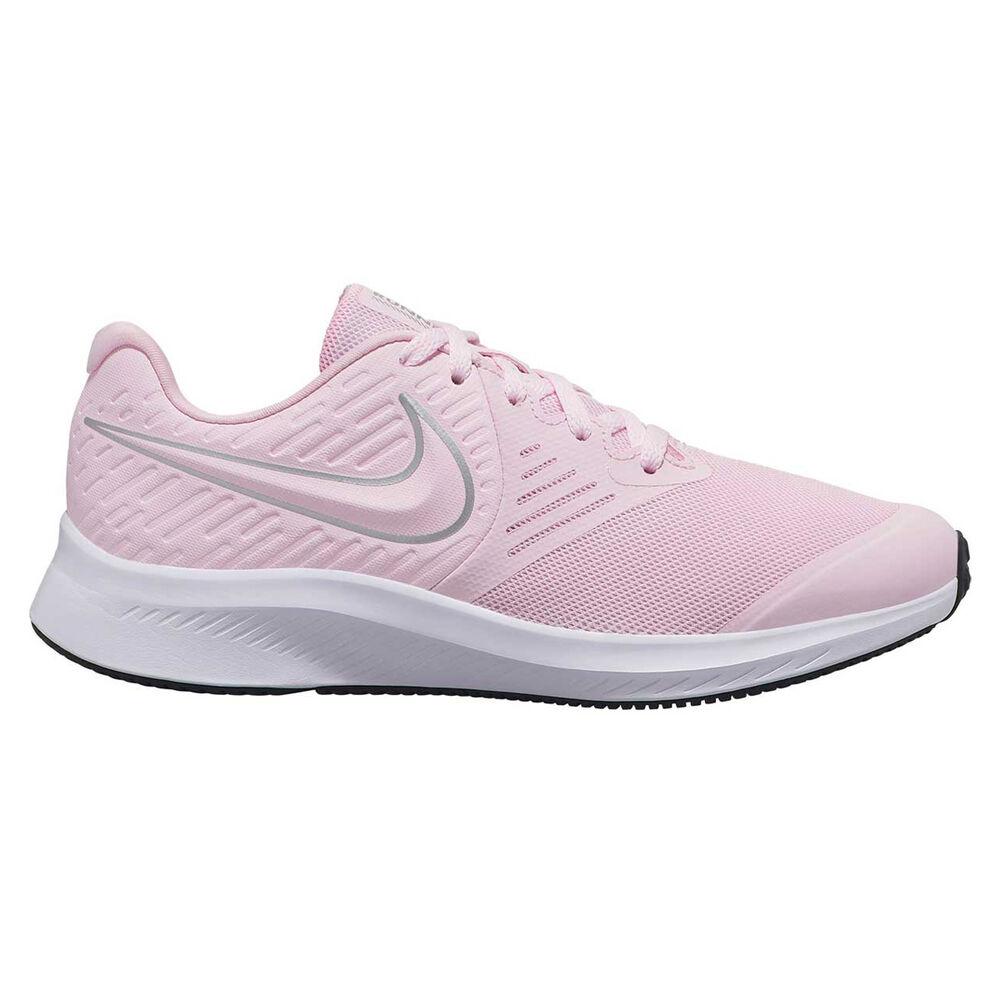 salida radioactividad Cuota de admisión  Nike Star Runner 2 Kids Running Shoes Pink / White US 7 | Rebel Sport