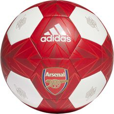 adidas Arsenal Club Ball White / Red 5, , rebel_hi-res