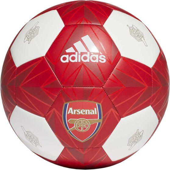 adidas Arsenal Club Ball White / Red 5, , rebel_hi-res