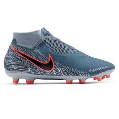 online retailer 3a18e 5efeb Nike Phantom Vision Academy Dynamic Fit Football Boots Blue   Black US Mens  6   Womens ...