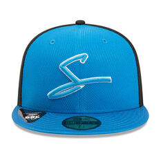 Adelaide Strikers New Era 59FIFTY Home Cap Blue 7 1 / 4in, Blue, rebel_hi-res