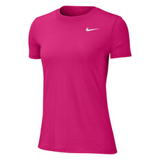Nike Womens Dri-FIT Legend Training Tee, Pink, rebel_hi-res