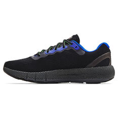 Under Armour HOVR Machina 2 Mens Running Shoes Black/Grey US 7, Black/Grey, rebel_hi-res
