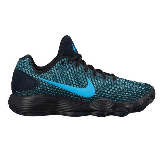 0d427fd0d7f0 Nike Hyperdunk 2017 Low Mens Basketball Shoes Black   Blue US 9 ...