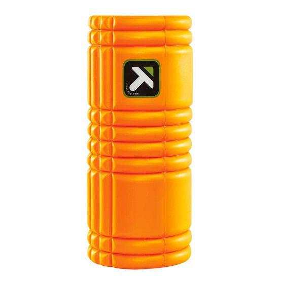 Trigger Point Grid Foam Roller Orange 33cm, Orange, rebel_hi-res