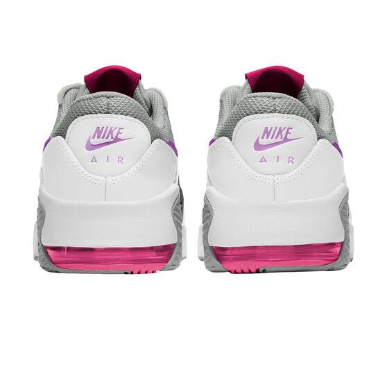 Nike Air Max Excee Kids Casual Shoes, Grey/Pink, rebel_hi-res