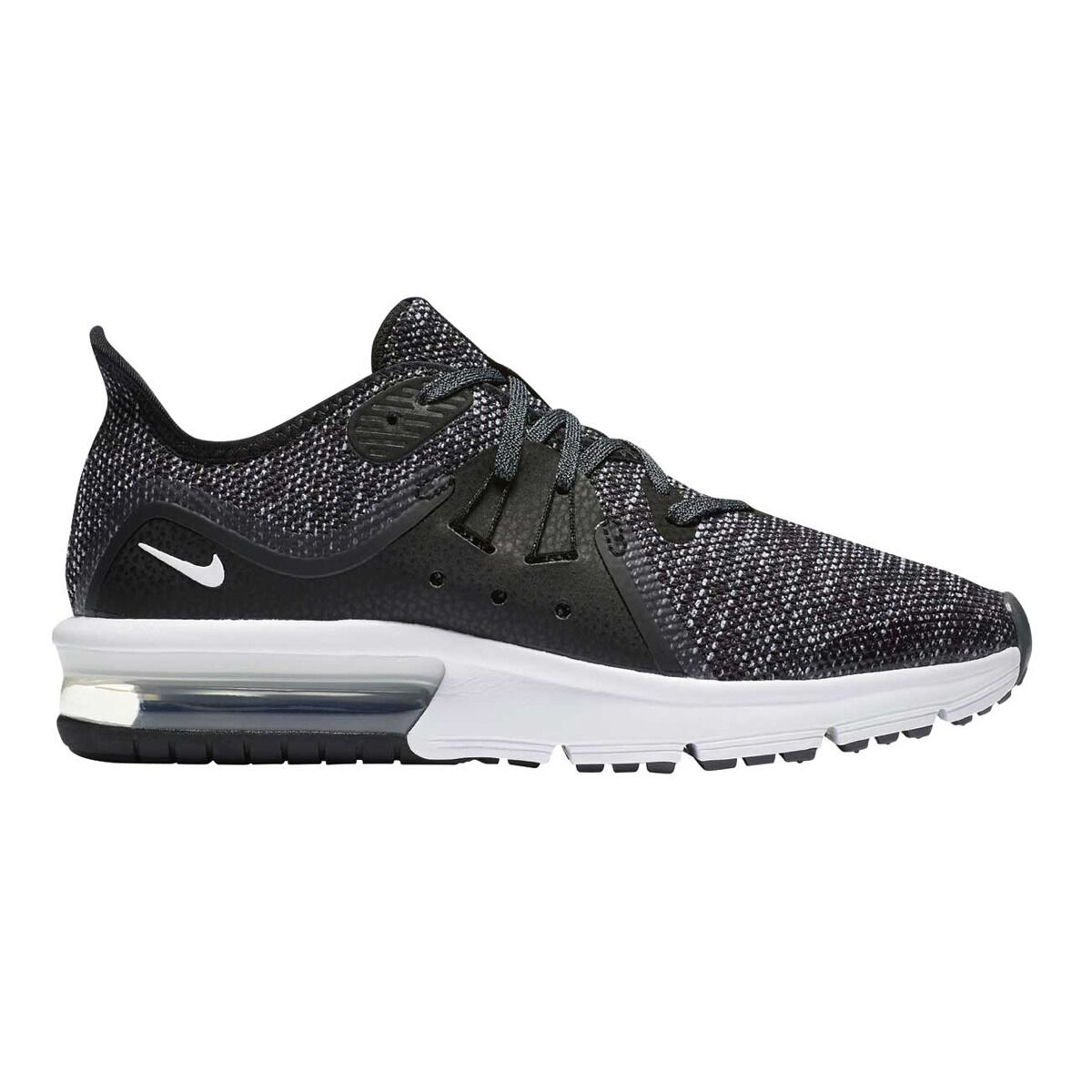 on sale 835c5 ade10 ... where to buy nike air max sequent 3 boys running shoes black white us 6  black