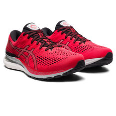 Asics GEL Kayano 28 Mens Running Shoes, Red/Black, rebel_hi-res