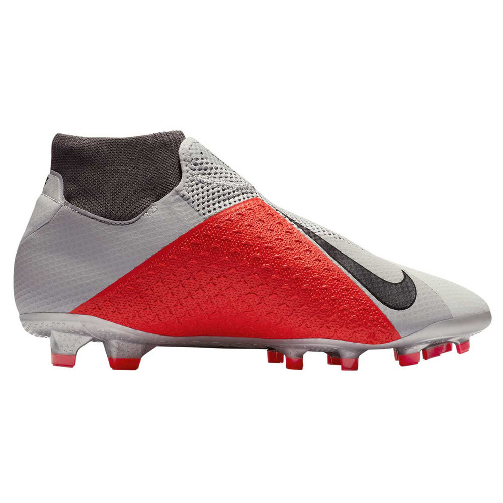 c73c14a85 Nike Phantom Vision Pro Mens Football Boots, White / Grey, rebel_hi-res
