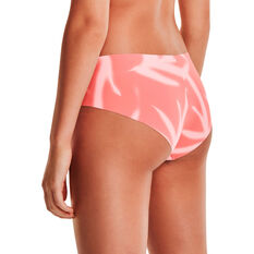 Under Armour Womens Pure Stretch Hipster 3 Pack Briefs, Pink, rebel_hi-res