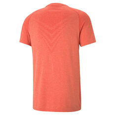 Puma Mens evoKNIT Training Tee Red XS, Red, rebel_hi-res