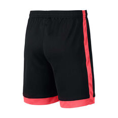 Nike Boys Dri-FIT Academy Football Shorts Black / Pink XS, Black / Pink, rebel_hi-res