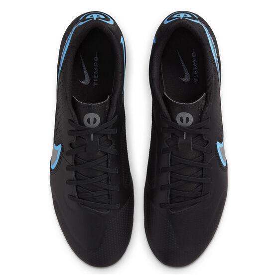 Nike Tiempo Legend 9 Academy Football Boots, Black/Grey, rebel_hi-res