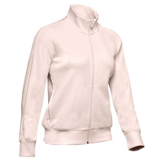 Under Armour Womens UA Double Knit Track Jacket, , rebel_hi-res